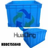 Envase plástico amontonable de la distribución de la capacidad grande del precio bajo