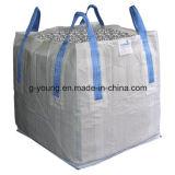 Sac en bloc carré de sac tissé par pp du bas FIBC pour l'alimentation