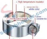 Verwarmer van de Band van het roestvrij staal de Ceramische