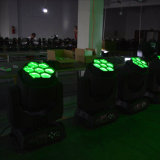 7PCS Ape-Eye RGBW 4in1 LED Moving Head/LED Stage Light per la discoteca del DJ con Ce RoHS