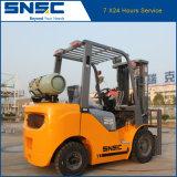Chariot élévateur de gaz de chariot gerbeur de LPG 2.5 tonnes