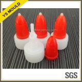 小さい滴りのびんおよび帽子プラスチック型
