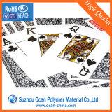 Folha de PVC 100% Óptima Brilhante Branco de 0,3 mm para cartões de jogo
