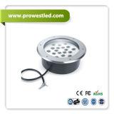 6W 9W 12W 18W 24W IP65はCe/RoHSのLEDの地下ライトを防水する