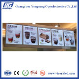 Snap Frame LED Light Box; Menor restaurante LED display board