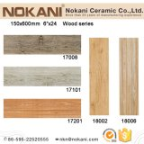 плитки фарфора взгляда 150X600mm плитки Anti-Slip деревянной деревенские для пола