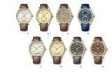 Estilo clássico do distrito dos homens relógio novo luxuoso da chegada do multi