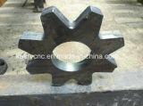 Einem doppelten Zweck dienender Maschinen-Bock-Stahlplatte/Blech/Gefäß/Rohr CNC-Plasma-Flamme-Ausschnitt-Bohrmaschine