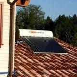 Sistema solar compacto del calentador de agua del tubo de calor