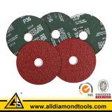 ファイバーディスク研摩剤は用具を使うヴェルクロ紙やすりで磨くディスク(HSPA)に