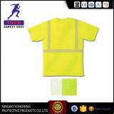 Camisas de polo del trabajo de la seguridad del Vis de Shirt/Hi de los hombres de la seguridad