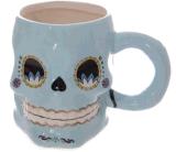 Tazza di caffè resa personale corsa di ceramica della tazza di alta qualità con il cranio