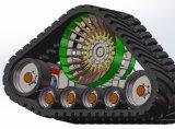 Track de borracha System (largura: 100mm----900mm)