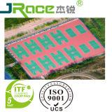 Plancher en plastique de terrain de basket pour la surface de sports d'intérieur