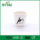 Подгонянная кофейная чашка логоса конструкции покрынная PE напечатанная одностеночная бумажная