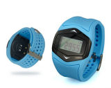 Contador sem fio da caloria do esporte da correia da aptidão do relógio da cinta da caixa do monitor da frequência cardíaca do pulso