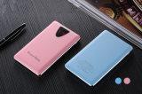 10000mAh 가죽 덮개 크리스마스 선물을%s 휴대용 전화 힘 은행 알루미늄 Fram LCD