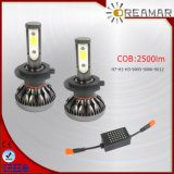 H7-H1-H3 - Faro di Hb3-9006-9012 29W 2500lm LED per l'automobile Using