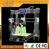 FCC RoHS van Ce van Anet SGS de Octrooien Goedgekeurde 3D Printer van de Desktop DIY