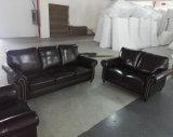 Sofá de América, sofá de la combinación, sofá de cuero 1+2+3 (8001)