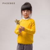 Одежды хлопка 100% Phoebee связанные/связанные свитера девушок