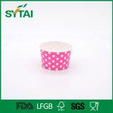 Tazza di carta a gettare del yogurt Frozen del gelato 4oz di stampa su ordinazione