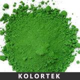 El óxido verde del cromo pigmenta a surtidor