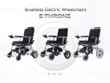 Elektrischer Rollstuhl, faltbar, leicht