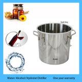 Distillatore caldo del vapore dell'olio essenziale della Rosa dell'alcool dell'acqua dell'acciaio inossidabile di vendita 10L/3gal da vendere