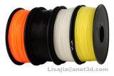 Bianco allineare 1.75mm 1000g del filamento della stampante di PLA 3D di Polymax