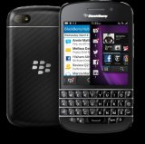 Nieuwe 4G Zwarte/Witte Originele Slimme Mobiele Telefoon Blackberri (BB Q10)