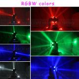 Инфинитная конструкция 10X15W RGBW 4 футбола вращения в 1 Moving свете головки СИД