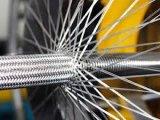 HLT-flexibler metallischer Schlauch mit einlagiger Einfassung