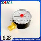 2 Stab-Montage-Gewinde der Inch/50mm Luftdruck-Anzeigeinstrument-4 1/4 Zoll mit rotem Einstellungs-Zeiger