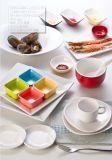 멜라민 장방형 격판덮개 또는 멜라민 초밥 Plate/100% 멜라민 식기 (WTY8008)