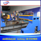 Тяжеловесное вырезывание плазмы CNC Gantry скашивая калибрующ машину