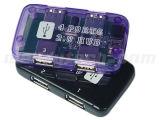 4左舷USBのハブ(WD-HB4008)