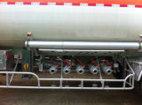 낮은 Price 6 Compartments 45000L Oil Tanker Semi Trailer