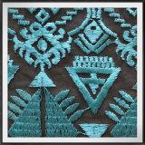幾何学的な網の刺繍のレースポリエステルテュルの刺繍のレース