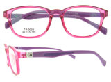 2016 marco óptico plástico del marco Tr90 de Eyewear de los cabritos de Eyewear de la manera