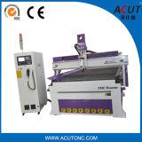 máquina del ranurador del CNC de 1300*2500m m para el grabado de madera y el corte