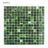 Mattonelle quadrate nere e grige del turchese di mosaico per Backsplash