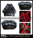 De Lichte Spin die van DJ Hoofd9PCS 10W MiniLicht bewegen