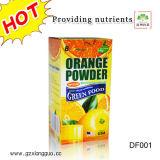 Het hoogste Efficiënte Oranje Poeder van het Lichaam van het Vruchtesap van het Verlies van het Gewicht Voor Vermageringsdieet