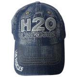 Chapeau lavé de jeans avec le logo Jc13