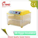 Incubator van het Ei van het Gevogelte van Hhd de Digitale Automatische Mini (48 Eieren)