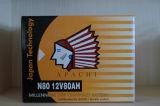 Batería seca Apachi N80 del cargador