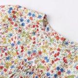Resorte 100% del algodón/ropa floral de las muchachas de los cabritos del otoño