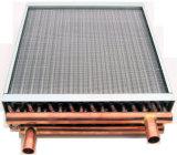 Calefator da unidade da câmara de ar de cobre para a fornalha de madeira ao ar livre