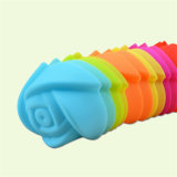 Sy03-04-004 escolhem moldes pequenos Rosa do sabão do silicone 3D